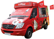 Summertime Icecreams - Ice cream van hire Swindon